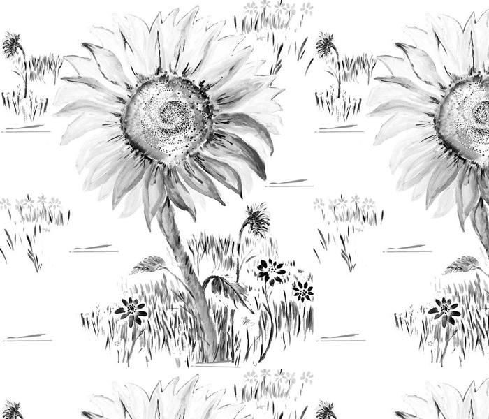 Sunflower Toile