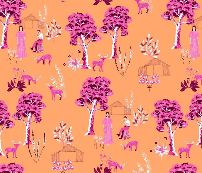 Outback Holiday Toile Du Jouy