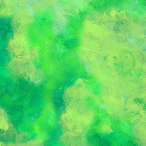 Tropical Jungle abstract painting