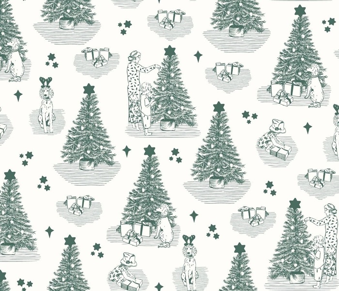 Christmas Tree Timming Toile // Pine