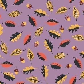 Autumn Leaves Lilac