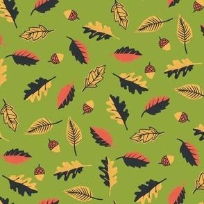 Autumn Leaves Olive