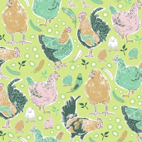 The Chicken Run Honeydew