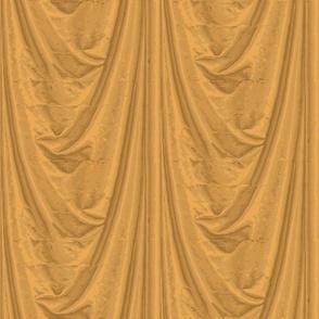 Trompe l'Oeil Drapery ~ Gold