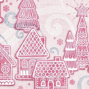 Gingerbread Toile
