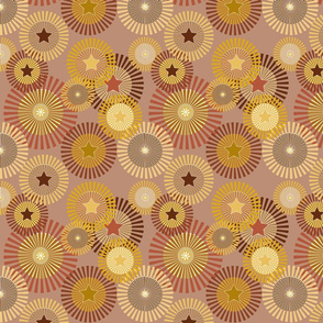 Sunflowers - Stars & Stripes