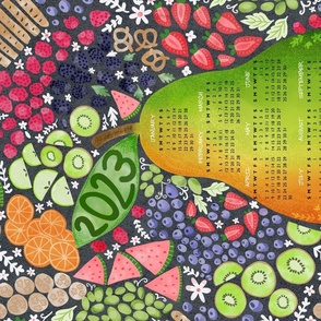 Tutti Fruitti 2022 Calendar