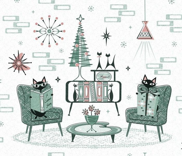 Cozy Cat Christmas