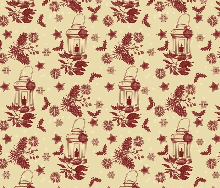 Holiday-toile-red
