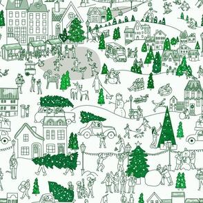 Toile_de_jouy__'christmastown'