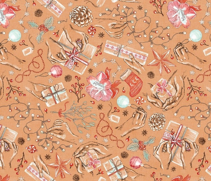 Holiday Traditions in Making toile