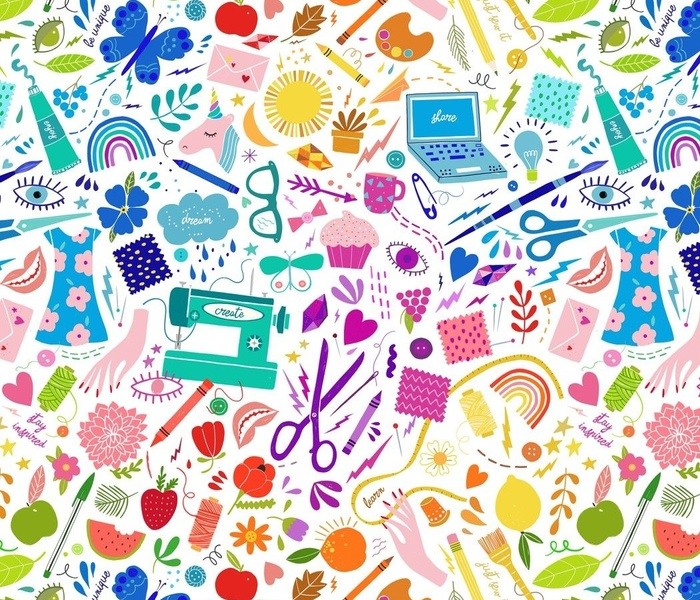 Christmas birds toile
