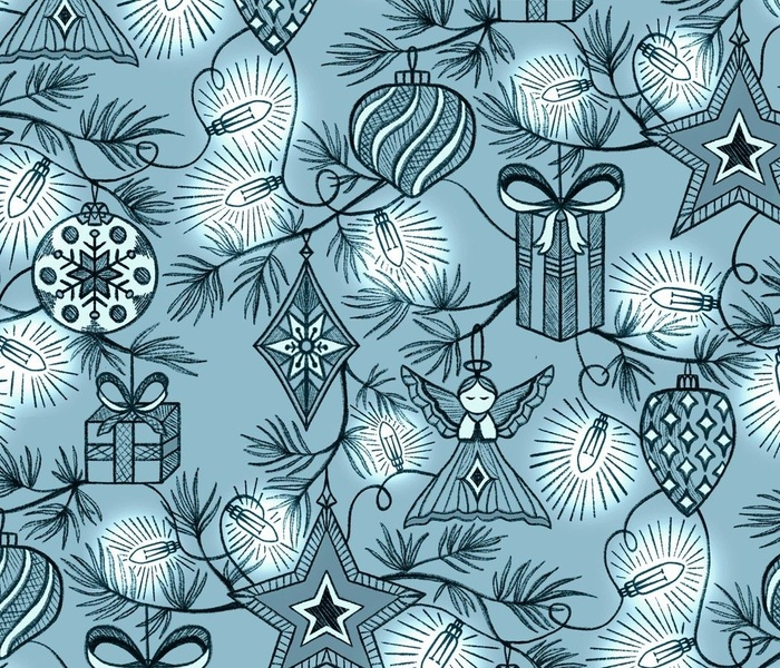 Joys of Decorating - Christmas Tree Toile
