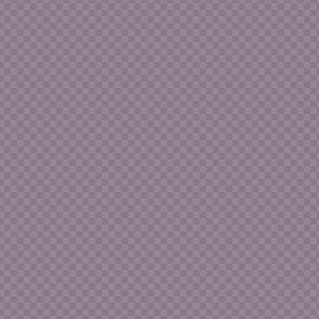 mini checker - purple and plum