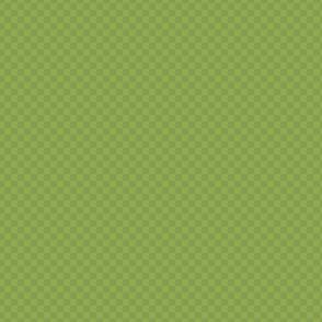 mini checker - warm shamrock green