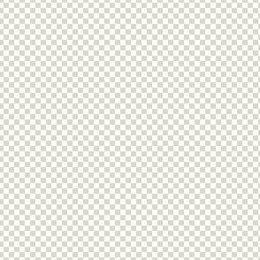 mini checker - bisque grey and white