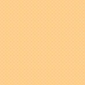 mini checker - orange sherbet