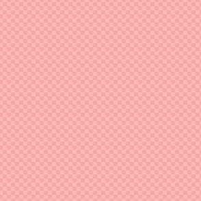 mini checker - pink sherbet