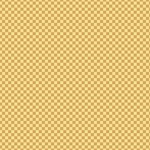 mini checker - spring gold