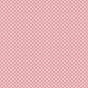 mini checker -  spring pink