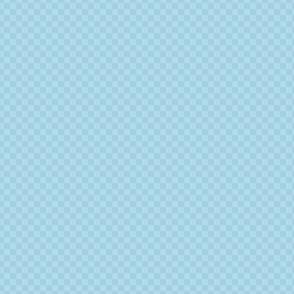 mini checker - light sky blue