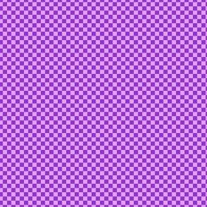 mini checker - mad purple