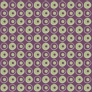 Purple Green Peas