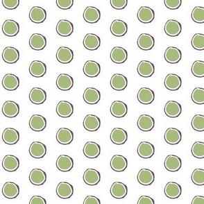 Wonky Ring, Green