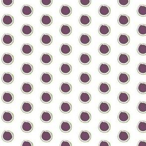Wonky Ring, purple