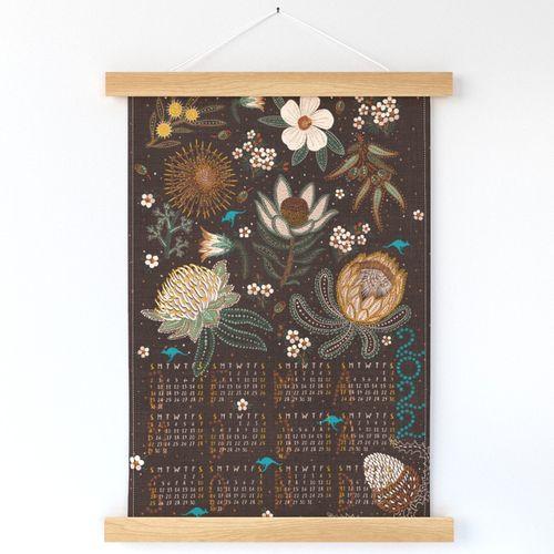 2022 Australian Tribal Blooms Calendar