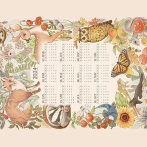 Illustrated Seasons - 2022 Calendar