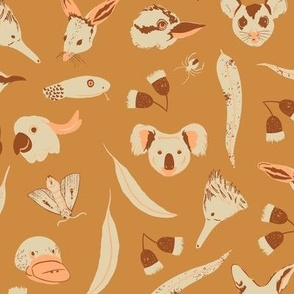 Large scale / Southern Animals / Sepia