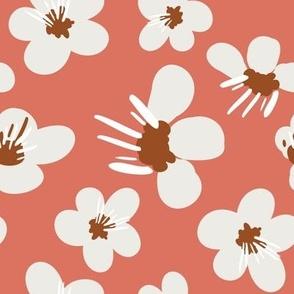 Big Blossom on Sorbet Pink