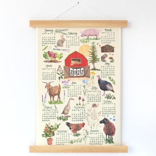 2022 Farm Sanctuary Calendar