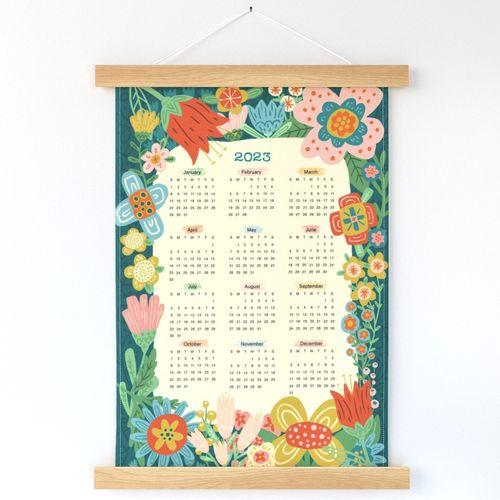 2022 Tea Towel Calendar