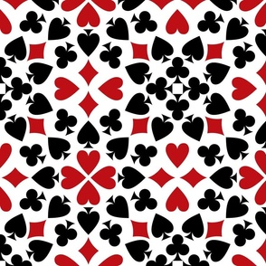 Playing Card Suits large