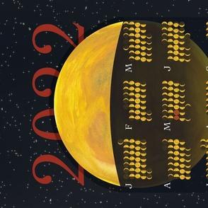 Bright Nights 2022 Moon Phase Calendar