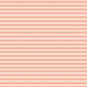 SweetShop Peach and Pale Pink Stripes