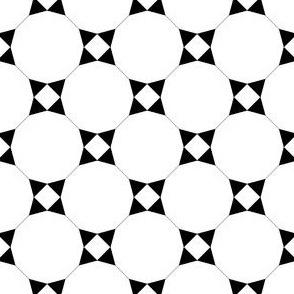 01218786 : TC43V X : black + white