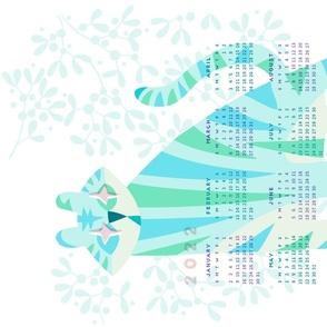 Crystal Tiger Calendar 2022