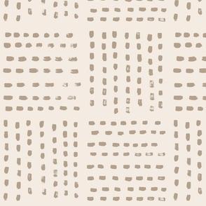 Four Parts Stripes beige