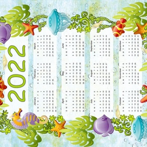 Under the Sea Calendar 2022