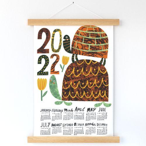 Two Turtles 2022 Calendar