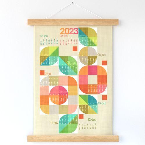 Mod Flower Box Calendar 2022