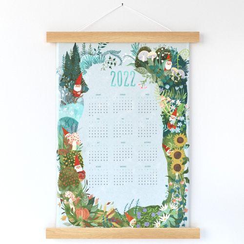 Four Season Gnomes 2022 Calendar