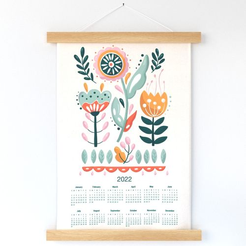 Time to Bloom _ Calendar 2022