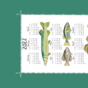 2022 Fish Calendar