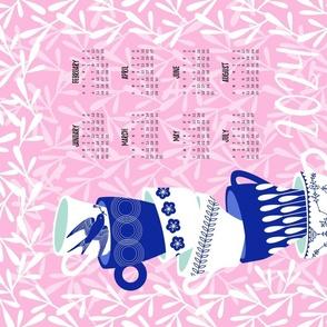 Tea for Twenty-Two - 2022 Tea Towel Calendar