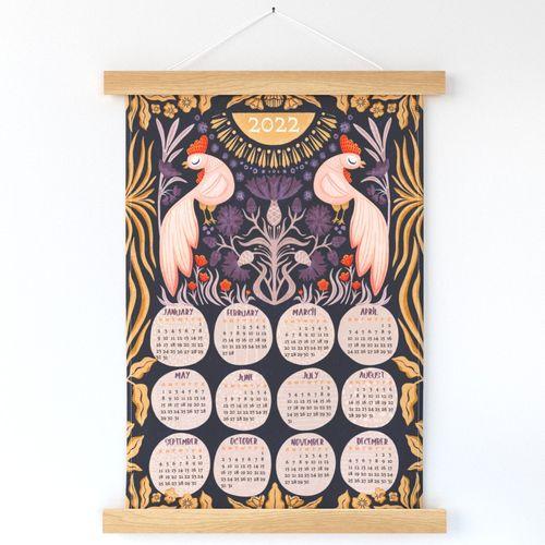 2022_Rooster Calendar_DarkBlue