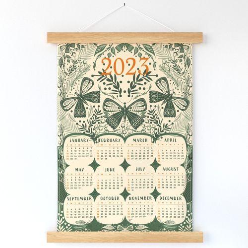 2022 Calendar Butterfly Garden
